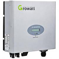 Мережевий інвертор Growatt 3000TL 3кВт однофазний 1-MPPt, фото 1