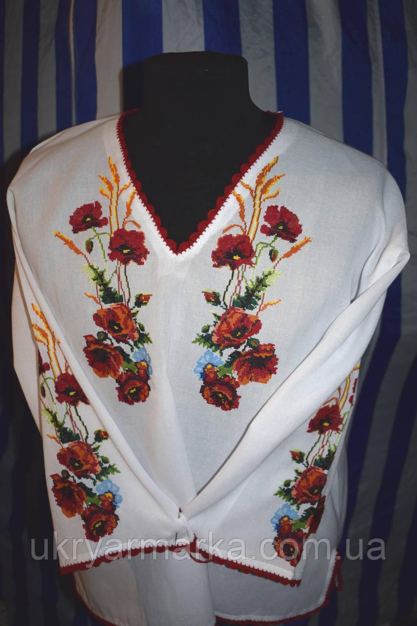 Вишита жіноча сорочка