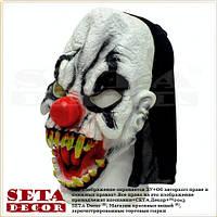 Маска Клоун монстр карнавальная