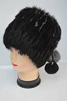 Женская шапка-кубанка из меха кролика 1210/24