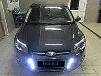 DRL штатные дневные ходовые огни LED- DRL для Ford Focus 2011-2015 V2