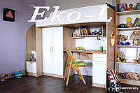 Кровать-чердак Эколь