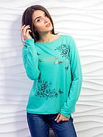 Кофта женская спинка на кнопках p.42-48 VM2082-1