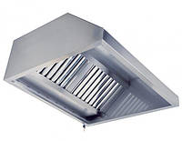 Зонт вентиляционный пристенный 800x600x350, фото 1