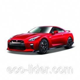 Автомодель - NISSAN GT-R (ассорти красный, белый металлик, 1:24), 3+
