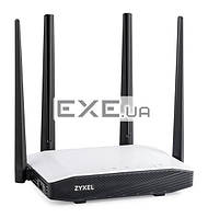 Zyxel Wireless 802.11AC 300Mbps+867Mbps (2.4Ghz+5Ghz) Ethernet Router with 4x ex (Keenetic Extra II)