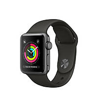 Apple Watch Series 3 GPS 38mm Space Gray Aluminum Case with Gray Sport Band MR352 [38mm|Gray Sport Band]