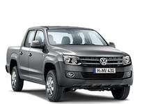 Защита заднего бампера VolksWagen Amarok (2010-2016)