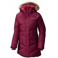 Женская пуховая куртка Columbia LAY D DOWN™ MID JACKET темно-малиновая WL1043 520