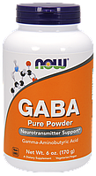 NOW Foods GABA Pure Powder 170 g
