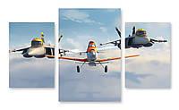 Модульная картина самолеты