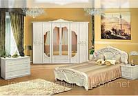 """Мебель для спальни """"Олимпия"""" беж"""