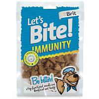 Brit (Брит) Let's Bite IMMUNITY - Иммунитет - лакомство для собак (курица)