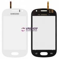 Сенсор (тачскрин) Samsung S6810 Galaxy Fame белый