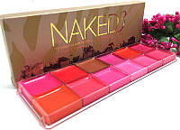 Профессиональная палитра помад для губ Naked Basics Urban Decay