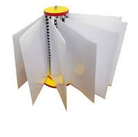 Перекидна система (вертушка) на 10 кишеньок ПЕТ, формат А-4