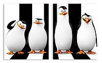 Модульная картина пингвины