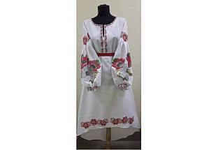 ЖПП-5 Бохо Женское пошитое платье заготовка под вышивку , фото 3