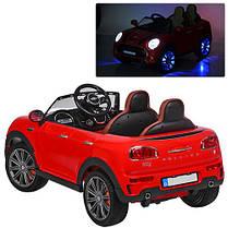 Детский электромобиль Mini Cooper M 3595 красный, фото 3
