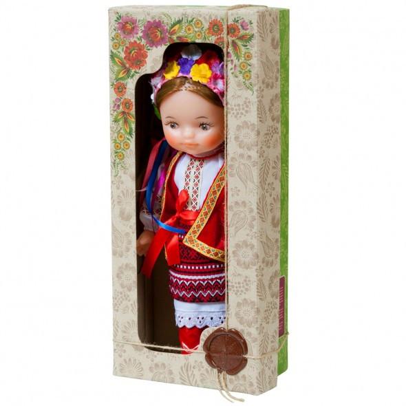 """Кукла """"УКРАИНКА"""" 35 см в национальном костюме В220/2 Украина в красивой подарочной коробке."""
