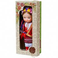 """Кукла """"УКРАИНКА"""" 35 см в национальном костюме В220/2 Украина в красивой подарочной коробке., фото 1"""