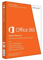 ПО Microsoft Office365 Home 5 User 1 Year Subscription Russian Medialess P2 (6GQ-00763)