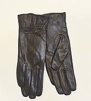 Женские кожаные перчатки на меху кролика