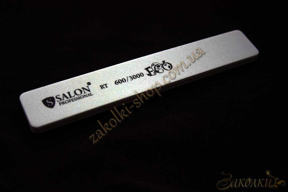 Шліфування-полірування нігтів Салон SALON Professional 600/3000, 1 штука