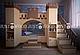 Двухъярусная кровать «Золушка 2″ JustWood, фото 6