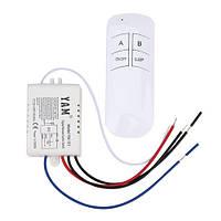 Беспроводной выключатель света с пультом ДУ на 1 канал (модель YM-101)