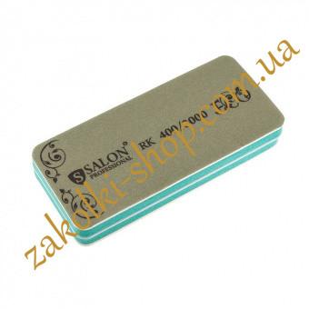 Шліфування-полірування нігтів Салон SALON Professional 400/3000, 1 штука