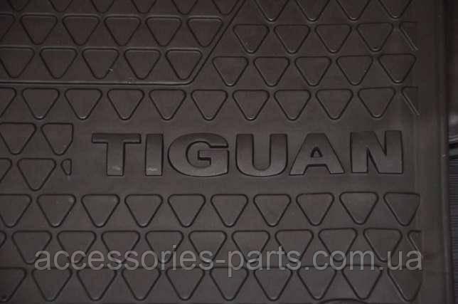 Коврики в салон резиновые VW Volkswagen Tiguan LHD Новые Оригинальные