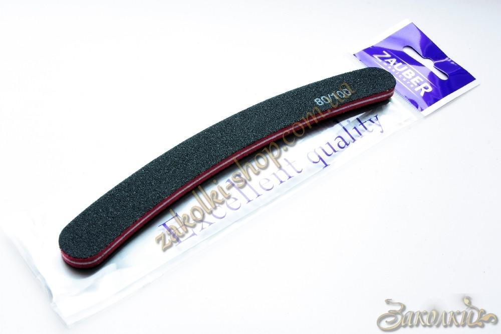 Пилка для натуральних і штучних нігтів Zauber 80/101, 1 штука