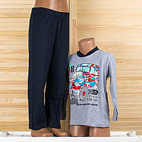 Детская пижама на мальчика Турция. Moral 07-2 6/7. Размер на 6/7 лет.