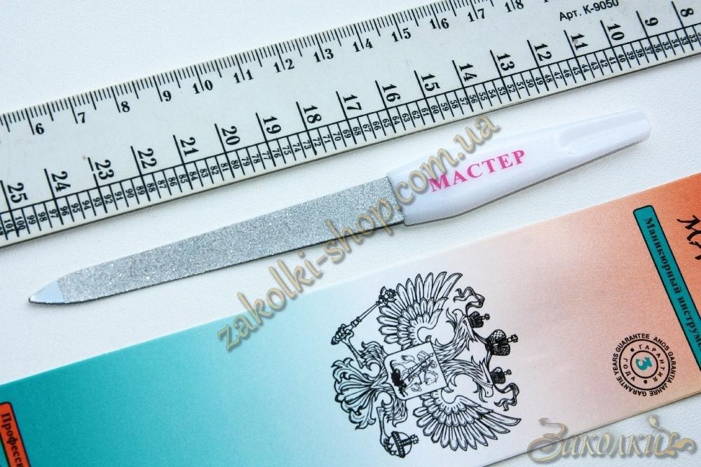 Металева Пилка з пластиковою ручкою МАЙСТЕР, довжина робочої поверхні: 9 см, 1 штука