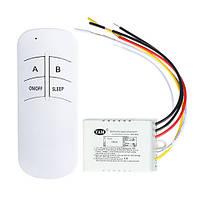 Дистанционный выключатель света с пультом на 2 канала (модель YAM-802)
