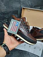 Мужские ботинки New Balance 754 (коричневые), ТОП-реплика, фото 1
