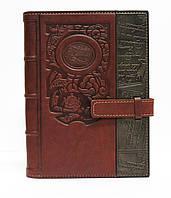 Элитный кожаный ежедневник формата А5