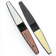 Пилка для манікюру мінеральна з напиленням для надання форми і полірування нігтів DUP Чехія, покрокова,