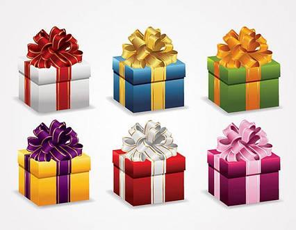 Подарочная коробка при заказе у нас игрушки, оформление подарков игрушек, упаковка игрушки