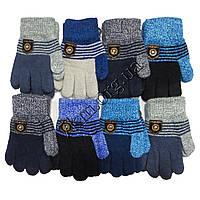 Перчатки подростковые для мальчиков Корона Оптом 5003 M