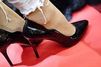 Туфли Женские кожаные  от TroisRois из натуральной кожи и замши.