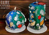 Морские свечи ELITE CANDLES - ручная робота, собственный дизайн, оригинальные цвета