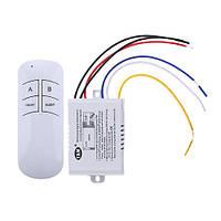 Выключатель света с дистанционным управлением на 3 канала (YAM-803)