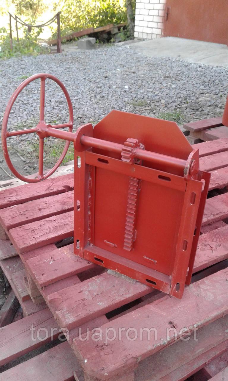 Задвижка реечная ТЗР-300х300 - ООО «Агрофирма «ТОРА» в Житомире
