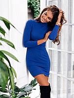 Платье женское по фигуре ,Материал джерси , цвет зеленый и электрик длина 87см супер качество ля №офис