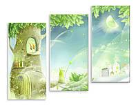 Модульная картина сказочное дерево