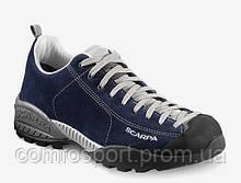 Обувь для туризма Scarpa Mojito GTX синие кроссовки с мембраной повседневные
