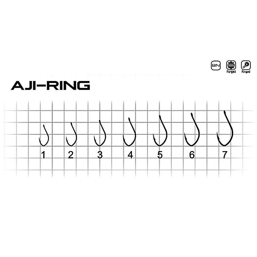Крючок Fishing ROI Aji-Ring №2 (ушко)  14шт.