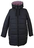 Куртка женская зимняя цвет серый